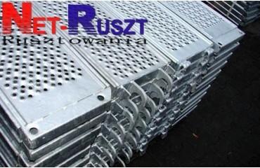 373,75m² podest stalowy 2,5m w systemie PL70/Plettac