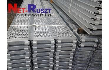 98,24m² podest stalowy 3,07m w systemie LA73